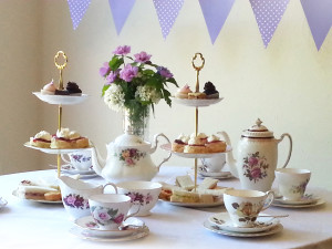 High Tea with beautiful English china